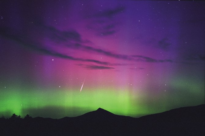 During the peak of the Perseid meteor shower of Aug. 12, 2000, an unexpected auroral display erupted over Colorado, creating a rare opportunity for Coloradans to see Perseid meteors streaking through the colorful Northern Lights. There is little chance for an auroral display over Colorado this year, but the Perseid meteor shower is expected to put on a magnificent show early Wednesday morning before dawn.