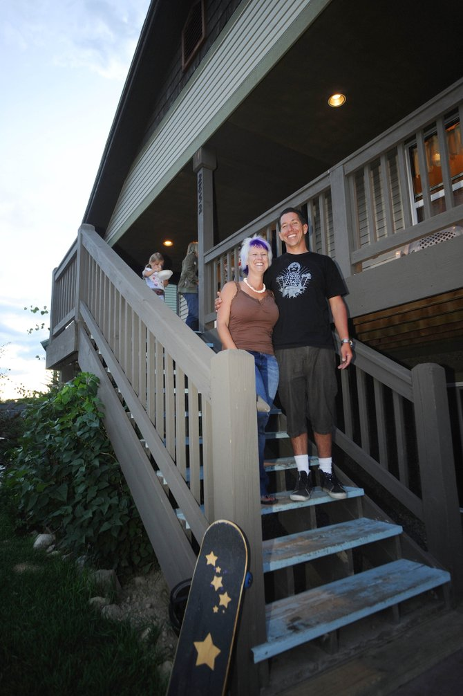 Buck and Tara Chavarria bought their deed-restricted home in West End Village in 2004.