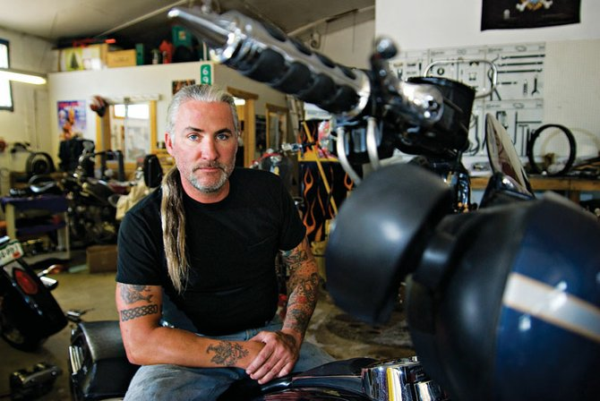 Jesse McAvoy, owner of Bad Axe Custom Cycles in Craig, will have his hair cut off and donated to Locks of Love. McAvoy is getting the haircut to play a role in an independent film in Boulder.