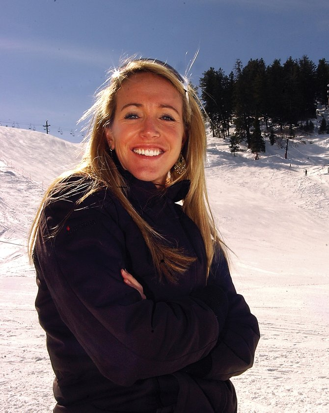 Longtime U.S. Ski Team member Caroline Lalive, shown here in October 2007, made her retirement official with the U.S. Ski Team on Tuesday. Lalive raced for 13 seasons, was a two-time Olympian and stood on five World Cup podiums.