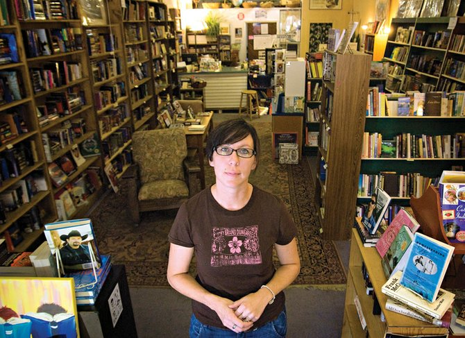 Caroline Dotson, who has worked at Downtown Books for two years, is gaining full ownership of the store and plans to keep it open. Carol Jacobson, the previous owner, died July 29 in a rafting accident near Dinosaur National Monument. At the time of Jacobson's death, Dotson owned almost half of the business.