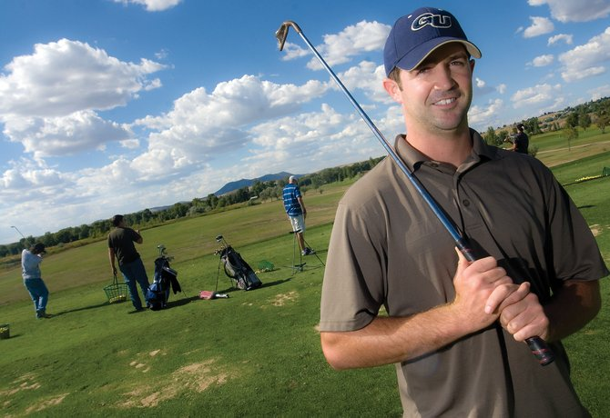 Joe Padon, 24, is starting off the year as the new Moffat County High School junior varsity golf coach. Padon, in his third year as a work studies teacher at the high school, is preparing his team for its next match, scheduled for Monday in Glenwood Springs.