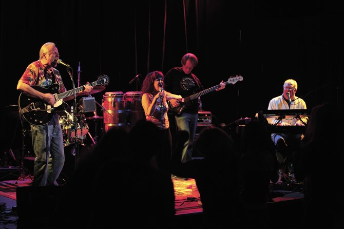 The Easy Peaces - from left, Kip Strean, Laura Lamun, Willie Samuelson and Ed Dingledine - play a free show at 9 p.m. Wednesday at Ghost Ranch Saloon. The band formed in 2006 as a Neil Young tribute and played several shows at Steamboat Mountain Theater.