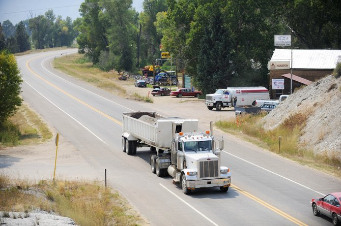 Concerned residents and public officials met Tuesday night to discuss this section of U.S. Highway 40 west of Steamboat Springs, which is where Lorna Lou Farrow was struck and killed by a dump truck July 28.