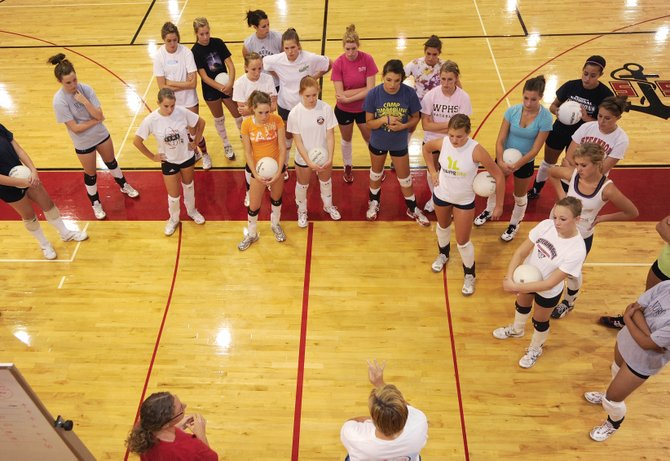 The Steamboat Springs High School girls volleyball team will open its season Friday at the Glenwood Springs High School tournament. This year's varsity team features 10 seniors.