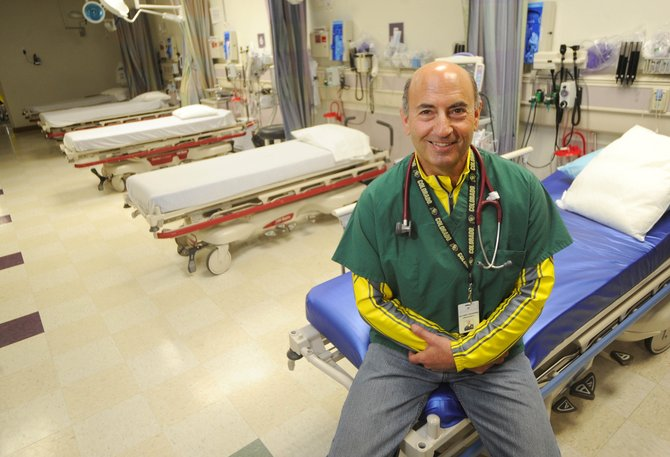 Larry Bookman, director of emergency medicine and chief medical officer at Yampa Valley Medical Center, is being honored for his more than 40-year career in health care. Bookman and John Kerst, pictured below, are the first winners of the Doc Willett Health Care Heritage Award.