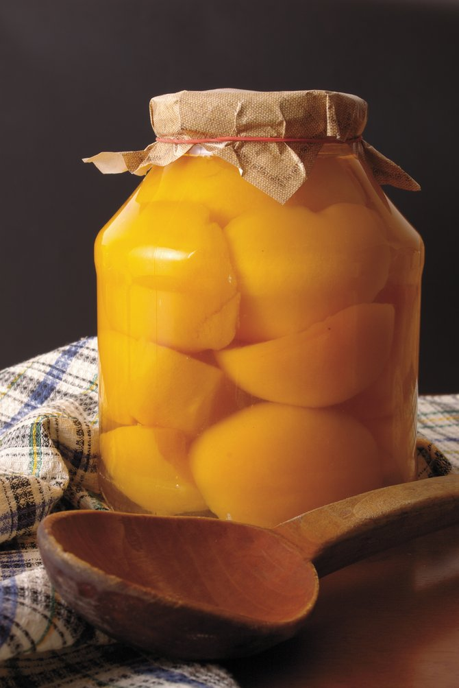 "Nothing says ""summer"" like opening a jar of homemade canned peaches in the middle of a long Routt County winter."