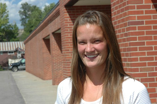 New Hayden High School counselor Nicole Dolence started her first real counseling job when the district began classes Tuesday. Dolence, who joined Hayden after a semester at Moffat County High School, completed graduate school in May 2008.