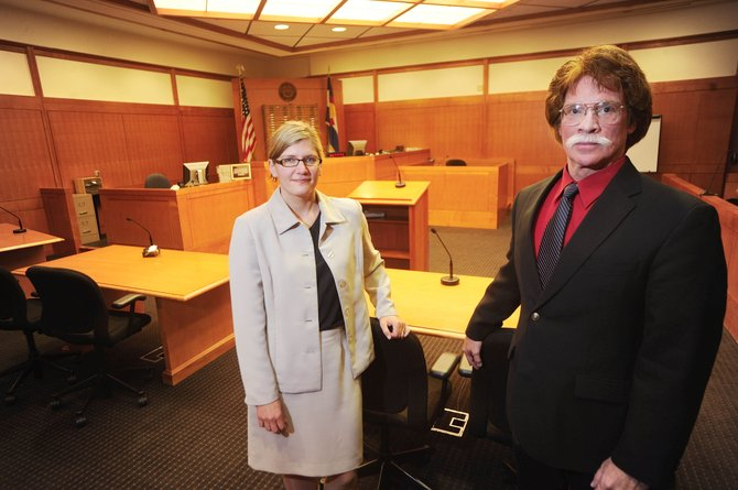 Another attorney will be coming to Routt County on Oct. 1 to help ease the workload for 14th Judicial District Deputy District Attorney Rusty Prindle, right, and 14th Judicial District Attorney Elizabeth Oldham.