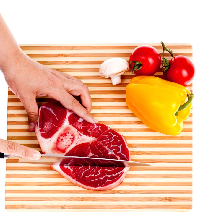 Safety in preparing meats is important to avoid becoming sick.