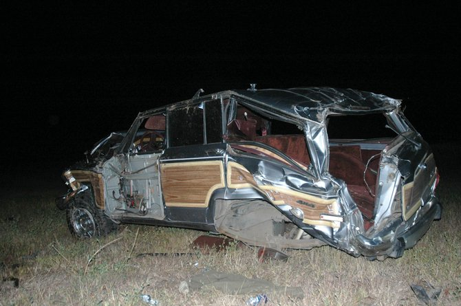 Dustin Dahlin, 36, of Phippsburg, was pronounced dead at Yampa Valley Medical Center after a rollover crash on Routt County Road 33 on Wednesday night.
