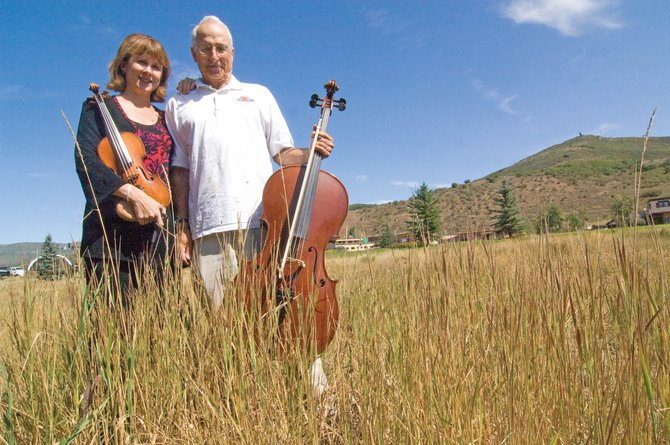 "Stephanie Sant'Ambrogio and her father John are scheduled to perform ""Father and Daughter play Vivaldi"" as part of the opening concert for the Steamboat Springs Orchestra at 7:30 p.m. Saturday at the Strings Music Pavilion. Tickets are $20 in advance and $25 at the door. Youth tickets are available for $10."