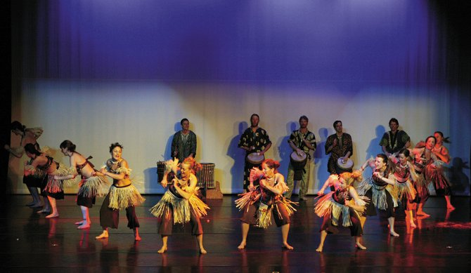 Members of Steamboat Dance Theatre perform an African dance piece during the group's 2007 concert. Auditions for the 38th annual Steamboat Dance Theatre concert are at 2 p.m. Sunday. Everyone who auditions will be put in the show, which is scheduled for Feb. 25 to 27.