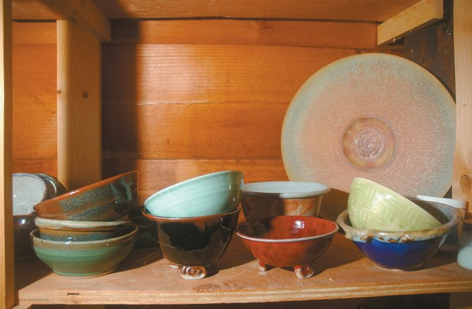 The ninth annual Soup Bowl Supper is at 5:30 and 7 p.m. Wednesday at the Steamboat Springs Community Center. Members of Steamboat Clay Artisans donated hundreds of handmade ceramic soup bowls for the event; part of the 2008 collection is seen here.