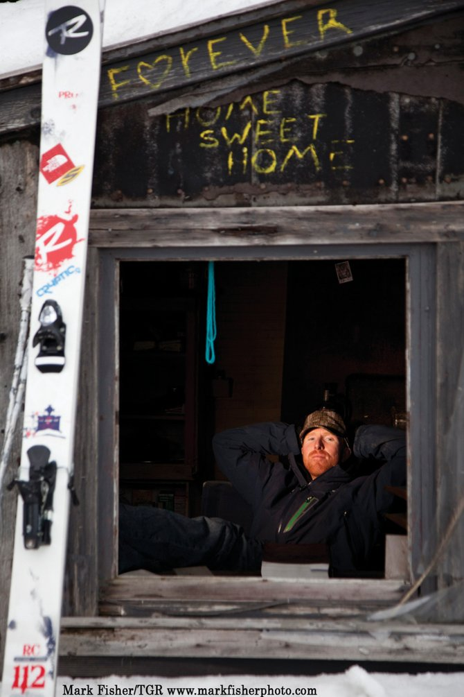 Ian McIntosh is one of many skiers and snowboarders featured in Teton Gravity Research&#39;s &quot;Re:Session,&quot; which shows as part of the Steamboat Mountain Film Festival at 7 p.m. today at the Sheraton Steamboat Resort Ballroom.