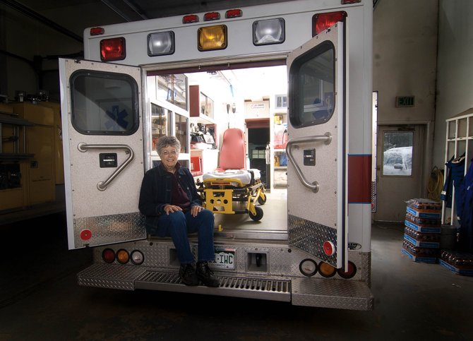 Longtime Emergency Medical Technician Bobbie Vetter retired in June, ending a career that began in 1973. Vetter worked in the Yampa and Oak Creek areas.