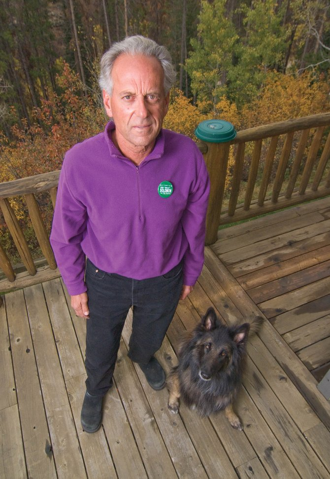 Ken Solomon is running for a seat on the Steamboat Springs City Council in District 2.