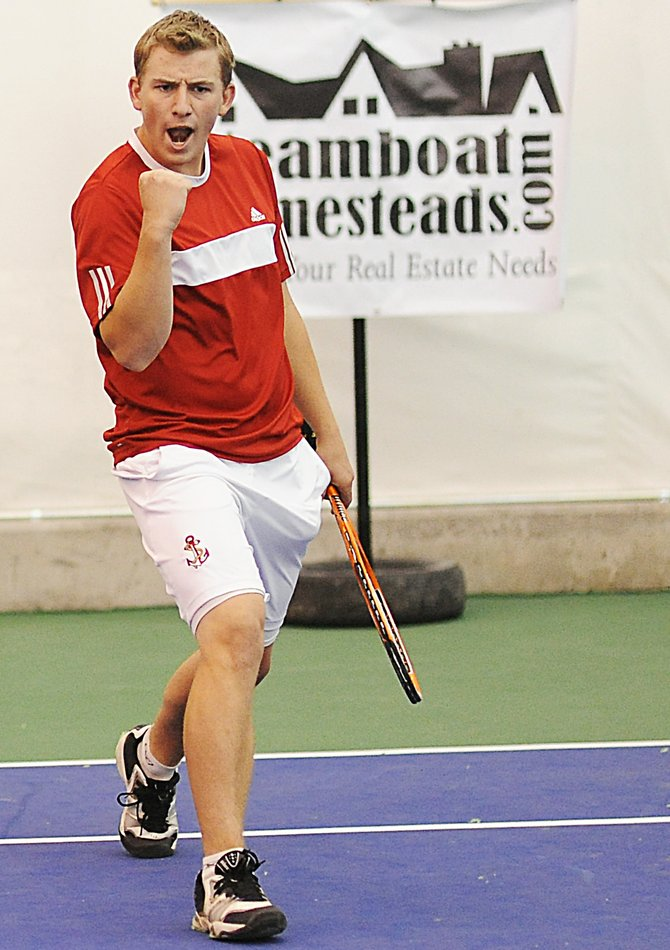 Steamboat Springs High School tennis player Vladan Chase and his No. 2 doubles partner Max Roder will try to help the Sailors earn a 12th consecutive regional title in Delta. The regional tournament begins today and runs through Friday.