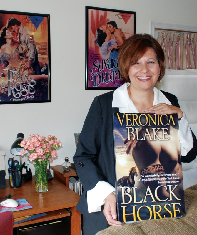 "Steamboat author Veronica ""Ronee"" Blake is excited about the release this month of her 10th historic romance novel, ""Black Horse."""