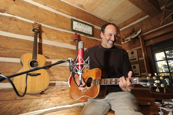Part-time Routt County resident Mark D. Sanders is being inducted into the Nashville Songwriters Hall of Fame.