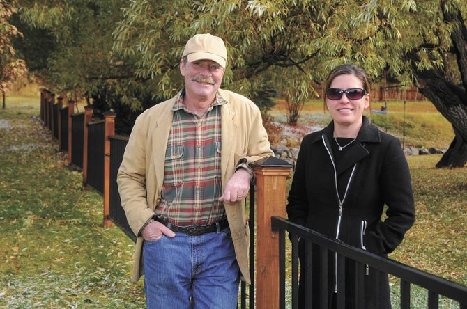 Old Town residents Kevin Bennett and Cari Hermacinski are running against each other for the Steamboat Springs City Council District 1 seat.