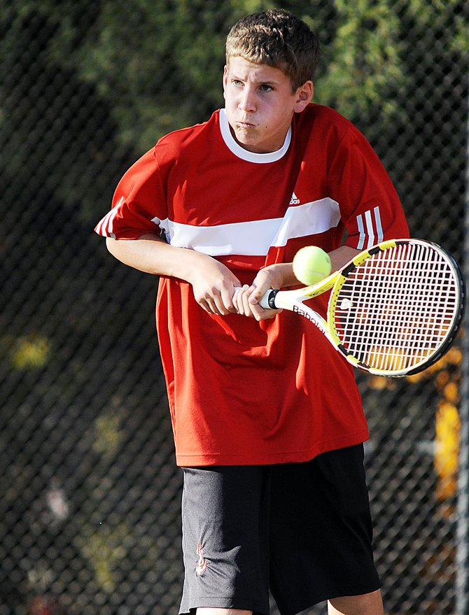 Steamboat's Gabri Erspamer, along with Kyle Rogers, will move on to the state semifinals today.