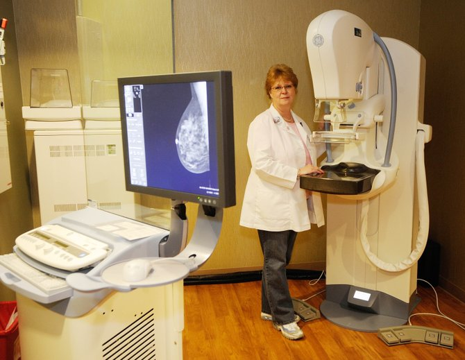Yampa Valley Medical Center Assistant Director of Radiology Julie Isaacs and her team plan to start using the hospital's new digital mammography machine in early November.  The $500,000 machine was purchased using money raised from the annual Penguin Plunge and other fundraisers.