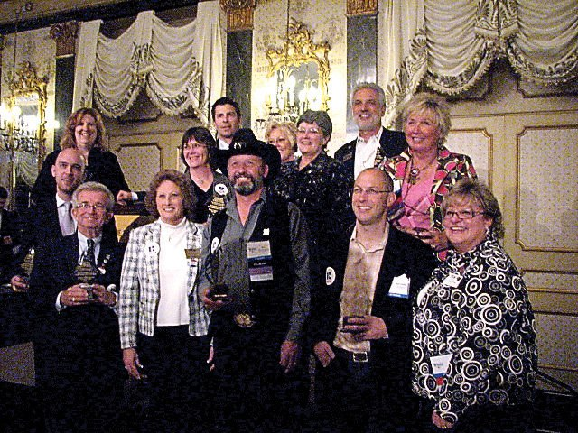 Members of the Craig Association of Realtors pose with their awards at the Colorado Association of Realtors annual convention in Colorado Springs.