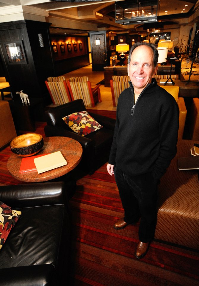 Recently retired Sheraton Steamboat Resort General Manager Chuck Porter is being honored as Business Leader of the Year.