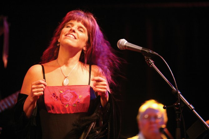 Laura Lamun will sing lead vocals for The Nude Blues Band at 9 p.m. today at Ghost Ranch Saloon. The group provides a raw blues sound different from any project Lamun's done before, she said. She also sings with the Neil Young tribute band The Easy Peaces, seen here.