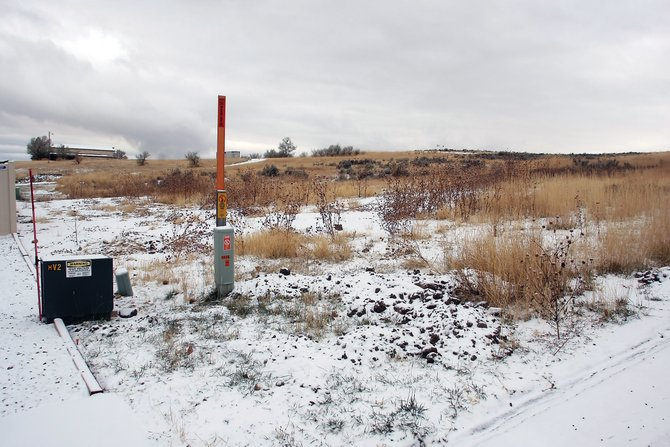 Diversified Consulting Solutions plans to build a residential subdivision on this land south of Moffat County High School. Construction is expected to begin next spring, and the first building phase will include eight single-family homes.