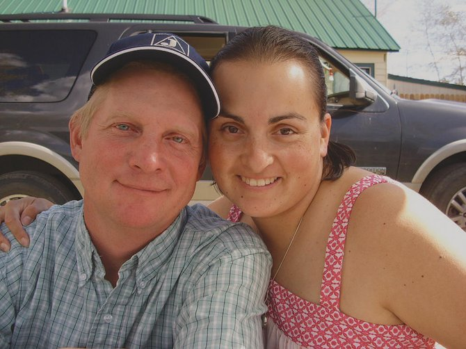 Martin Bugg, left, pictured with his wife, Leslie Bugg, is remembered by his family as a helpful handyman in the community of Hayden. Bugg was killed in a one-car rollover Wednesday night.