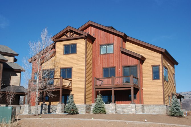 The just completed Rocky Peak Village off Hilltop Parkway notched its first sale this week. Lori Thompson told an audience at the Steamboat Grand Thursday that the average sales price of townhomes and condominiums increased through the third quarter.