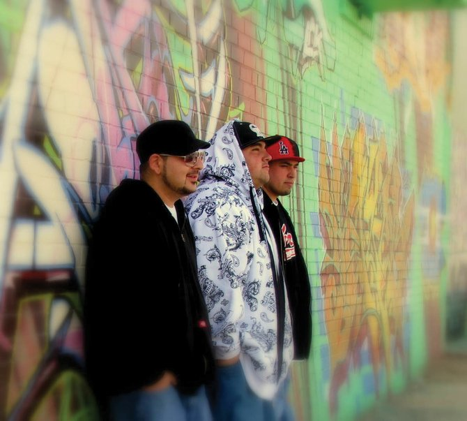 Denver hip-hop trio 3 the Hard Way plays at 9 p.m. today at Ghost Ranch Saloon. Salt Lake City hip-hop band MindState opens the show. Admission is $5 at the door.