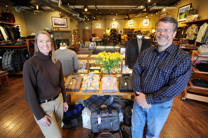 Denise and Steve Hitchcock are celebrating the one-year anniversary of their downtown business Zirkel Trading.