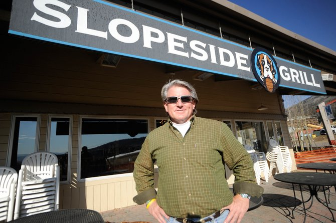 Bill Banks is the new owner of Slopeside Grill. Jim Cook, of Colorado Group Realty, said there were about 40 inquiries regarding the purchase of the restaurant.