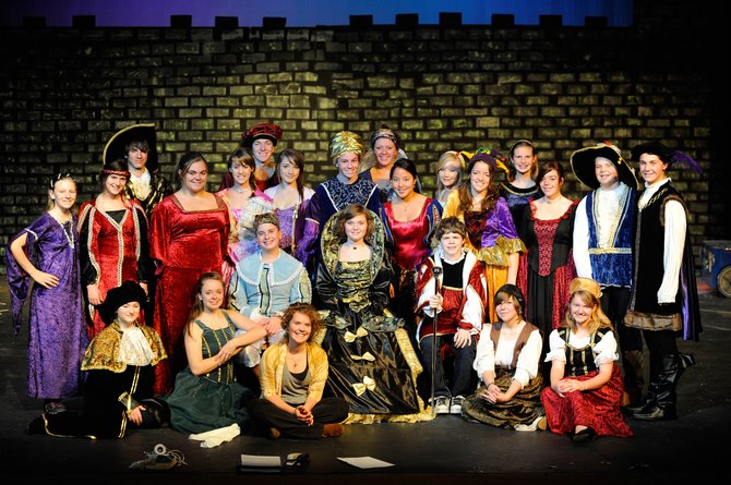 """Once Upon a Mattress,"" a musical comedy presented by the Steamboat Springs High School drama department is at 7 p.m. Thursday, and Nov. 20 and 21, 2 p.m. Nov. 21."