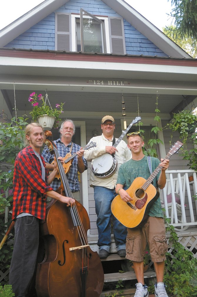 Cornbread will perform at 7 p.m. Saturday at the Mugshot in Oak Creek. Admission to the concert is free, and bringing nonperishable food items for donation to the LIFT-UP Food Bank is encouraged. Pictured here are band members, from left, Denton Turner, Paul Geppert, Scott Kirton and Graham Geppert.