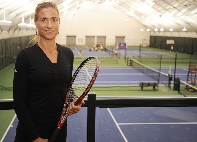 Longtime tennis pro Karen Connell won't take up coaching tennis full time again, but she will be leading a 12-week nutrition and weight-loss class at the Tennis Center at Steamboat Springs. The class will bring in several guest speakers and focus on helping students maintain their weight-loss achievements.