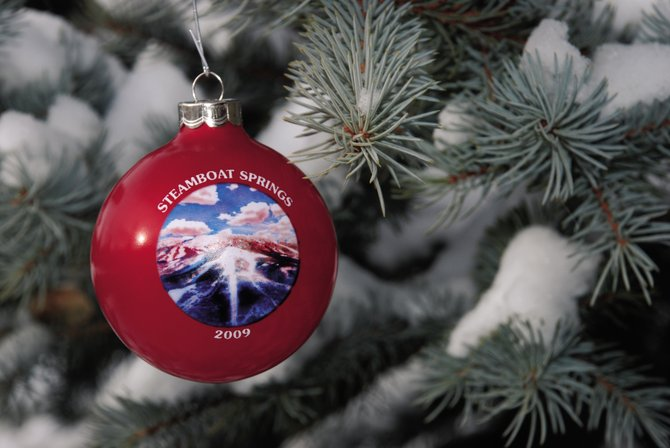 Members of the Steamboat Springs Kiwanis Club are selling their annual holiday ornament at grocery stores this week. This is the 28th year for the fundraiser.