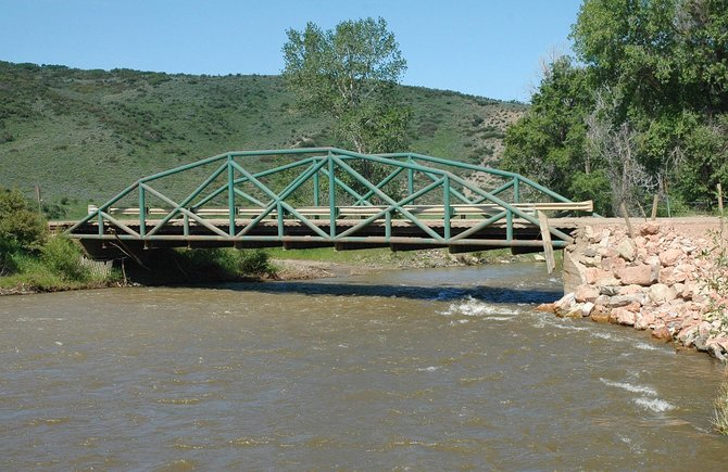 Routt County has applied for a $900,000 federal grant to replace the Green Pipe Bridge in the southwestern part of the county.  The county would fund an additional $216,000 for the project next year.