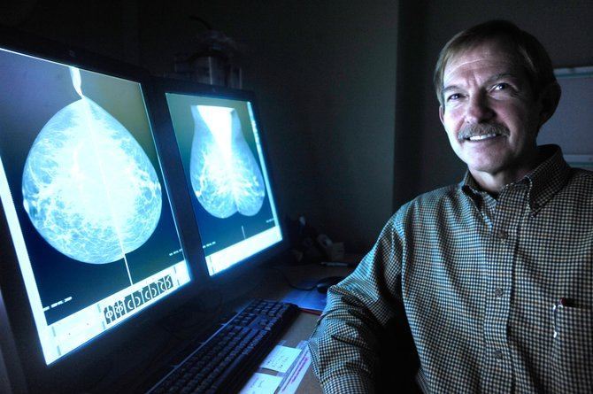 Yampa Valley Medical Center radiologist J.D. Gilliland, MD, is one of several local doctors who question a recent study recommending women ages 50 to 74 have breast cancer screenings every two years.