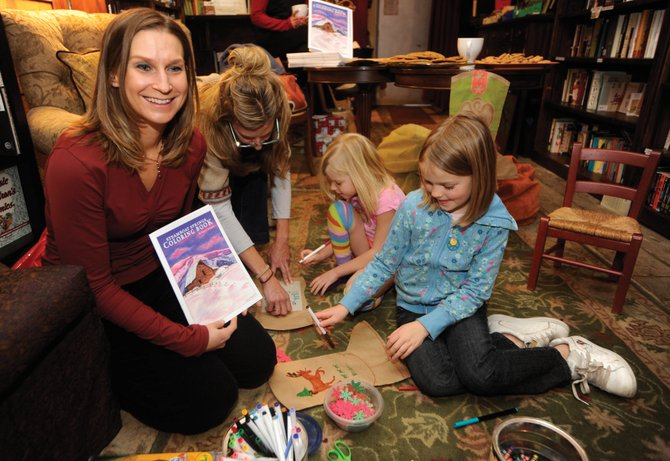 "Megan Morgan's ""The Steamboat Springs Coloring Book"" went on sale at Epilogue Book Co. at the end of November."