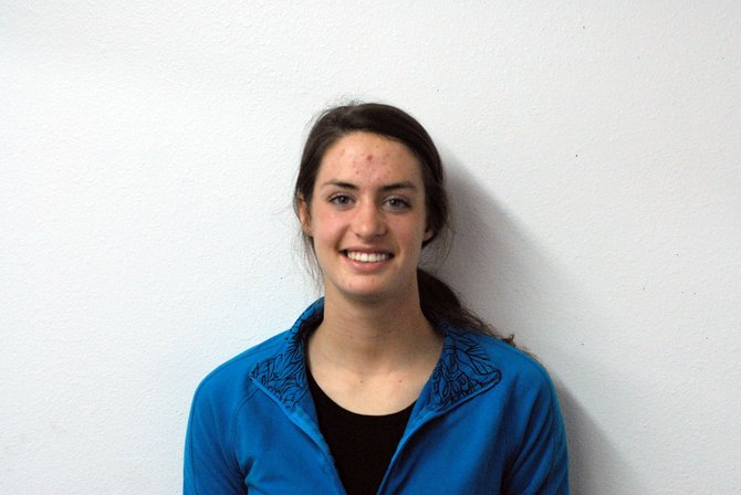 Alicia Nelson was the top freshman for Division II cross-country champions Adams State College in Alamosa. Nelson, a 2009 Moffat County High School graduate, was the individual champion for division 4A in 2008 for the Bulldogs.