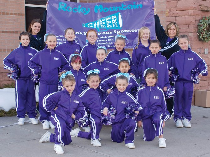 The Rocky Mountain Cheer squad for the 2009 fall season was coached by Summer McParland.