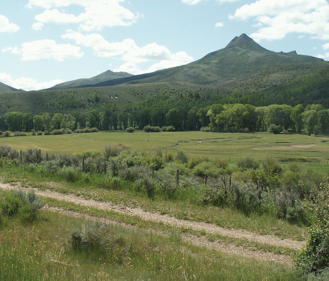 The A.W. Salisbury Ranch in North Routt County was homesteaded in 1881 and straddles the Little Snake River.