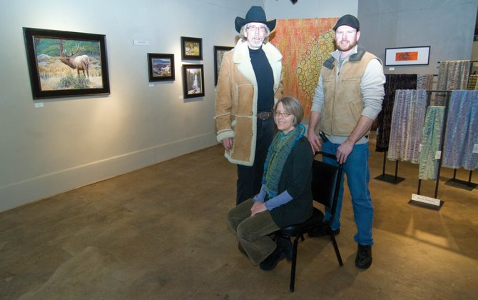 Photographer Joseph Cosby, fiber artist Wendy Kowynia and painter Adam Zabel will be featured this month at the Artists' Gallery of Steamboat.
