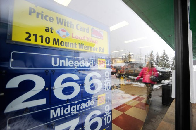 City Market customers now receive 10 cents off each gallon of gas at the Loaf 'N Jug on Mount Werner Road, which was a Sinclair station.