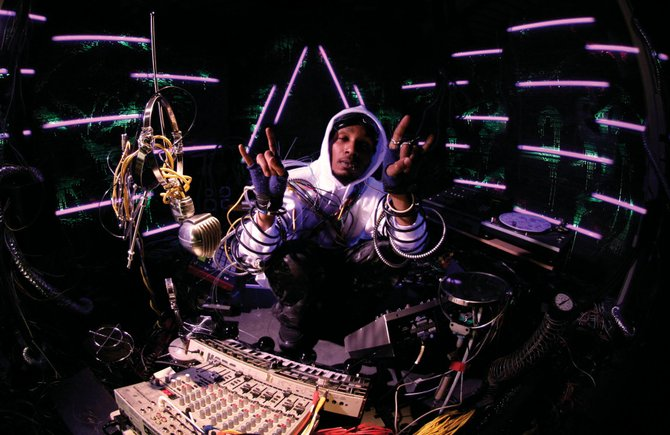 Hip-hop artist Del The Funkyhomosapien plays at 9 p.m. Monday at Ghost Ranch Saloon. Tickets are $15 in advance or $20 on the day of the show.