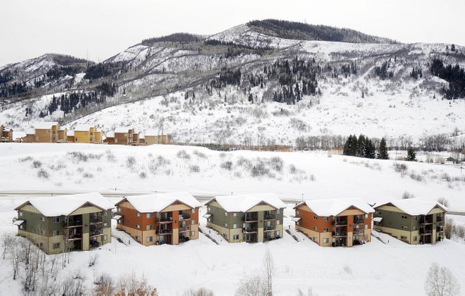 The work of a citizen committee and the looming vote on the proposed Steamboat 700 annexation have returned affordable housing issues to the cross hairs of local debate. The Fox Creek townhomes on Hilltop Parkway include 30 deed-restricted units built by the Yampa Valley Housing Authority in 2006.